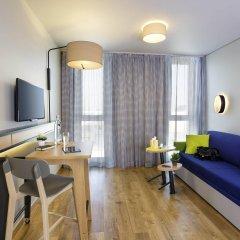 Отель Adagio access München City Olympiapark Мюнхен комната для гостей