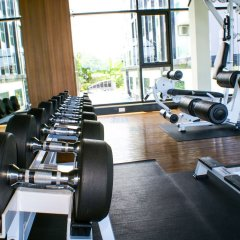 Отель Dusit Grand Condo View Jomtien Паттайя фитнесс-зал фото 3