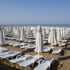 Отель Larissa Side Beach Club - All Inclusive пляж