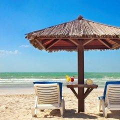 Отель Coral Beach Resort - Sharjah ОАЭ, Шарджа - 8 отзывов об отеле, цены и фото номеров - забронировать отель Coral Beach Resort - Sharjah онлайн пляж фото 2