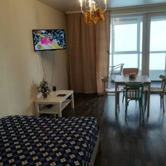 Гостиница B2BAPARTMENTS Apartments Scotland on Nemirovicha в Новосибирске отзывы, цены и фото номеров - забронировать гостиницу B2BAPARTMENTS Apartments Scotland on Nemirovicha онлайн Новосибирск комната для гостей