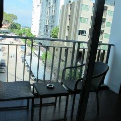 Отель March Hotel Pattaya Таиланд, Паттайя - 1 отзыв об отеле, цены и фото номеров - забронировать отель March Hotel Pattaya онлайн балкон