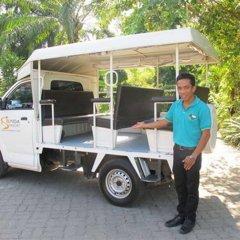 Отель Sunda Resort городской автобус