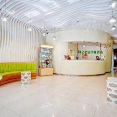 Отель Apple Designer Hotel Китай, Сиань - отзывы, цены и фото номеров - забронировать отель Apple Designer Hotel онлайн интерьер отеля фото 3