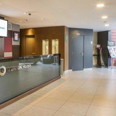 Отель ILUNION Auditori Испания, Барселона - 3 отзыва об отеле, цены и фото номеров - забронировать отель ILUNION Auditori онлайн интерьер отеля фото 3