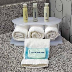 Holiday Inn Express Hotel & Suites Columbus - Polaris Parkway Колумбус ванная