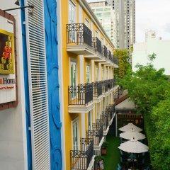 Отель Salil Hotel Sukhumvit - Soi Thonglor 1 Таиланд, Бангкок - отзывы, цены и фото номеров - забронировать отель Salil Hotel Sukhumvit - Soi Thonglor 1 онлайн балкон