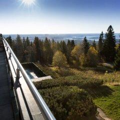 Отель Voksenaasen балкон