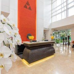 Отель Dusit Suites Hotel Ratchadamri, Bangkok Таиланд, Бангкок - 1 отзыв об отеле, цены и фото номеров - забронировать отель Dusit Suites Hotel Ratchadamri, Bangkok онлайн интерьер отеля фото 3