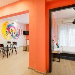 Colors Budget Luxury Hotel Салоники комната для гостей фото 4