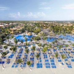 Отель Grand Bahia Principe Bávaro - All Inclusive Доминикана, Пунта Кана - 3 отзыва об отеле, цены и фото номеров - забронировать отель Grand Bahia Principe Bávaro - All Inclusive онлайн пляж фото 2