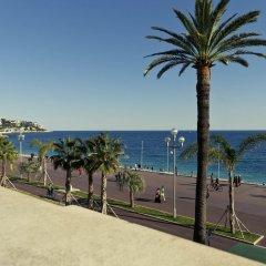 Отель Mercure Nice Marché Aux Fleurs Франция, Ницца - 13 отзывов об отеле, цены и фото номеров - забронировать отель Mercure Nice Marché Aux Fleurs онлайн пляж