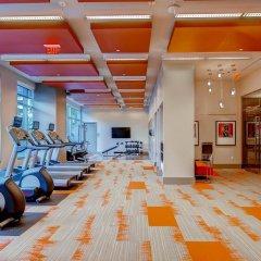 Отель Global Luxury Suites at Woodmont Triangle South фитнесс-зал фото 4