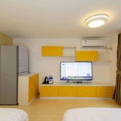 Апартаменты Tengsen Apartment Wanke Yuncheng Branch удобства в номере