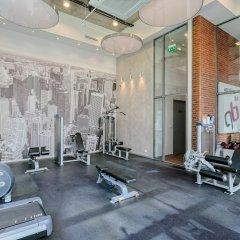 Отель Platinum Residence Qbik фитнесс-зал фото 3