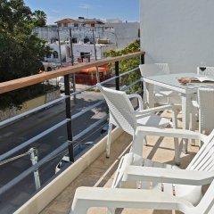 Отель Costa Fina Oceanview Penthouse Мексика, Плая-дель-Кармен - отзывы, цены и фото номеров - забронировать отель Costa Fina Oceanview Penthouse онлайн балкон
