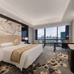 Отель Shenzhen Huaqiang Plaza Hotel Китай, Шэньчжэнь - 1 отзыв об отеле, цены и фото номеров - забронировать отель Shenzhen Huaqiang Plaza Hotel онлайн комната для гостей фото 3