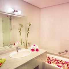 Отель Idou Anfa Hotel Марокко, Касабланка - отзывы, цены и фото номеров - забронировать отель Idou Anfa Hotel онлайн ванная фото 2