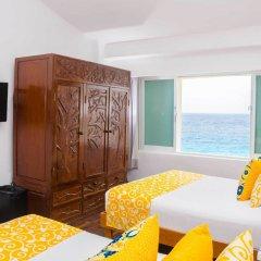 Отель BSEA Cancun Plaza Hotel Мексика, Канкун - отзывы, цены и фото номеров - забронировать отель BSEA Cancun Plaza Hotel онлайн комната для гостей фото 6