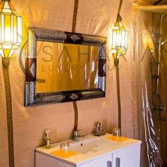 Отель Saharian Camp Марокко, Мерзуга - отзывы, цены и фото номеров - забронировать отель Saharian Camp онлайн ванная фото 2