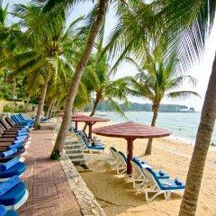 Отель Royal Cliff Beach Terrace Hotel Таиланд, Паттайя - отзывы, цены и фото номеров - забронировать отель Royal Cliff Beach Terrace Hotel онлайн пляж