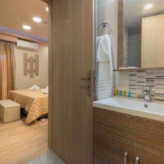 Отель El Barco Luxury Suites Греция, Аргасио - отзывы, цены и фото номеров - забронировать отель El Barco Luxury Suites онлайн ванная