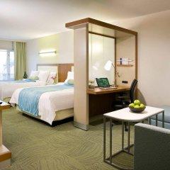 Отель SpringHill Suites Las Vegas Convention Center комната для гостей