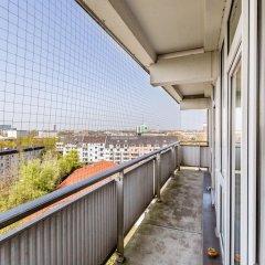 Апартаменты Apartment Deutz Кёльн балкон