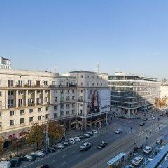 Отель Warsaw Center Apartment Польша, Варшава - отзывы, цены и фото номеров - забронировать отель Warsaw Center Apartment онлайн балкон
