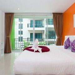Отель The Frutta Boutique Patong Beach 3* Стандартный номер с различными типами кроватей фото 11