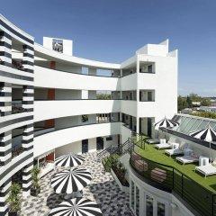 Отель Carlyle Inn балкон