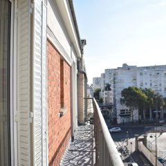 Апартаменты 1 Bedroom Apartment Near Paris Gare de Lyon балкон