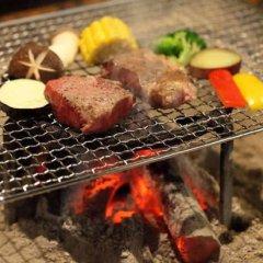 Отель Kurokawa Onsen Yama No Yado Shinmeikan Минамиогуни гостиничный бар