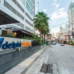 Отель Adelphi Suites Bangkok парковка
