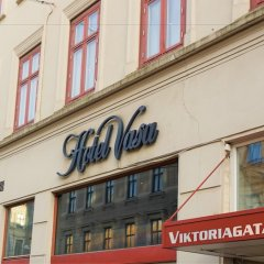Отель Vasa - Sweden Hotels Швеция, Гётеборг - отзывы, цены и фото номеров - забронировать отель Vasa - Sweden Hotels онлайн вид на фасад