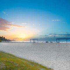 Отель Coral Costa Caribe пляж