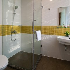 Отель Citin Masjid Jamek by Compass Hospitality Малайзия, Куала-Лумпур - 2 отзыва об отеле, цены и фото номеров - забронировать отель Citin Masjid Jamek by Compass Hospitality онлайн ванная