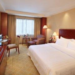 Отель Jianguo Hotel Shanghai Китай, Шанхай - отзывы, цены и фото номеров - забронировать отель Jianguo Hotel Shanghai онлайн комната для гостей фото 2