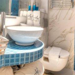 Отель Art Boutique Hotel Греция, Пефкохори - 1 отзыв об отеле, цены и фото номеров - забронировать отель Art Boutique Hotel онлайн ванная фото 2