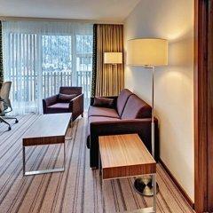 Отель Hilton Garden Inn Davos Швейцария, Давос - отзывы, цены и фото номеров - забронировать отель Hilton Garden Inn Davos онлайн балкон