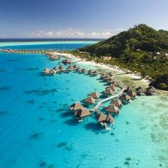 Отель Conrad Bora Bora Nui пляж