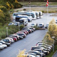 Hotel Scandic Sluseholmen Копенгаген парковка