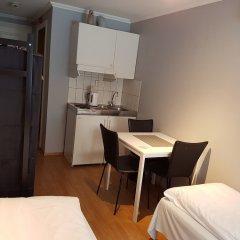Отель Bergen Budget Aparthotel Норвегия, Берген - отзывы, цены и фото номеров - забронировать отель Bergen Budget Aparthotel онлайн комната для гостей фото 4
