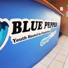 Отель Blue Pepper Hostel & Bar Мексика, Гвадалахара - отзывы, цены и фото номеров - забронировать отель Blue Pepper Hostel & Bar онлайн парковка