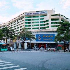 Отель Shenzhen Kaili Hotel Китай, Шэньчжэнь - отзывы, цены и фото номеров - забронировать отель Shenzhen Kaili Hotel онлайн вид на фасад