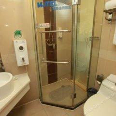 Отель Motel 168 Chengdu ShuangQiao Road Inn Китай, Чэнду - отзывы, цены и фото номеров - забронировать отель Motel 168 Chengdu ShuangQiao Road Inn онлайн ванная