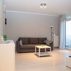 Отель Pure Rental Apartments - City Residence Польша, Вроцлав - отзывы, цены и фото номеров - забронировать отель Pure Rental Apartments - City Residence онлайн комната для гостей фото 3