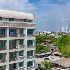 Отель Lasalle Suite Бангкок балкон