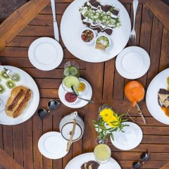Отель Las Nubes de Holbox питание