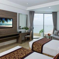 Отель Golden Peak Resort & Spa Камрань комната для гостей